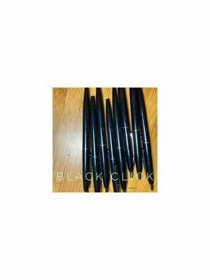 Blank Black Click Pens