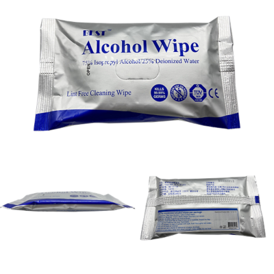 10 Pak Alcohol Wipes