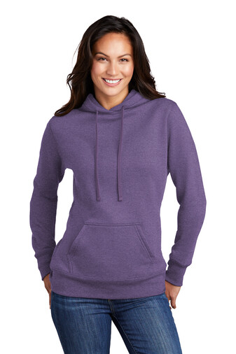 Port & Company ® Ladies Core Fleece Pullover Hooded Sweatshirt