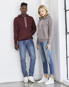 Custom Bella + Canvas Hoodied Sweatshirt