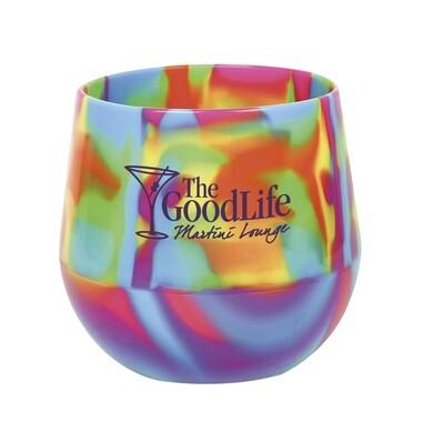 Custom Silipint™ Wine Glass - 14 oz.