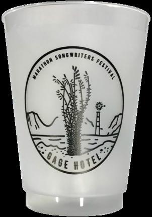 12 oz Frost Flex® Plastic Cups
