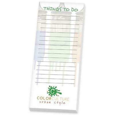 """BIC® 3"""" x 8"""" Adhesive Notepad, 25 Sheet Pad"""