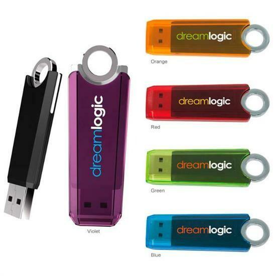2 GB Ring USB 2.0 Flash Drive