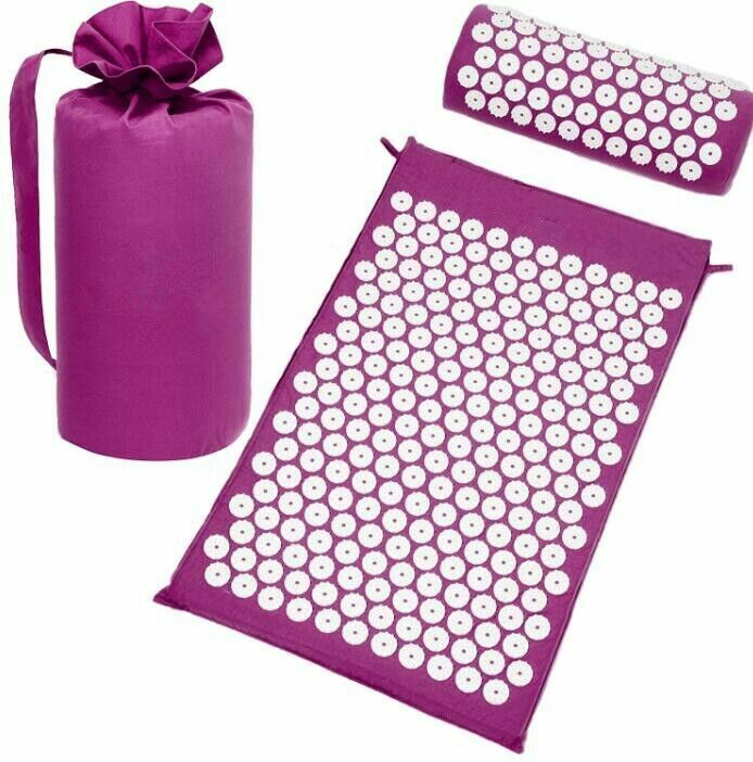 Fitness Needle Massage Yoga Mat With Neck Pillow