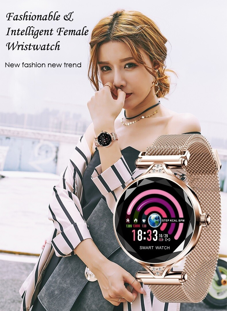 smartwatch/works with ios and android