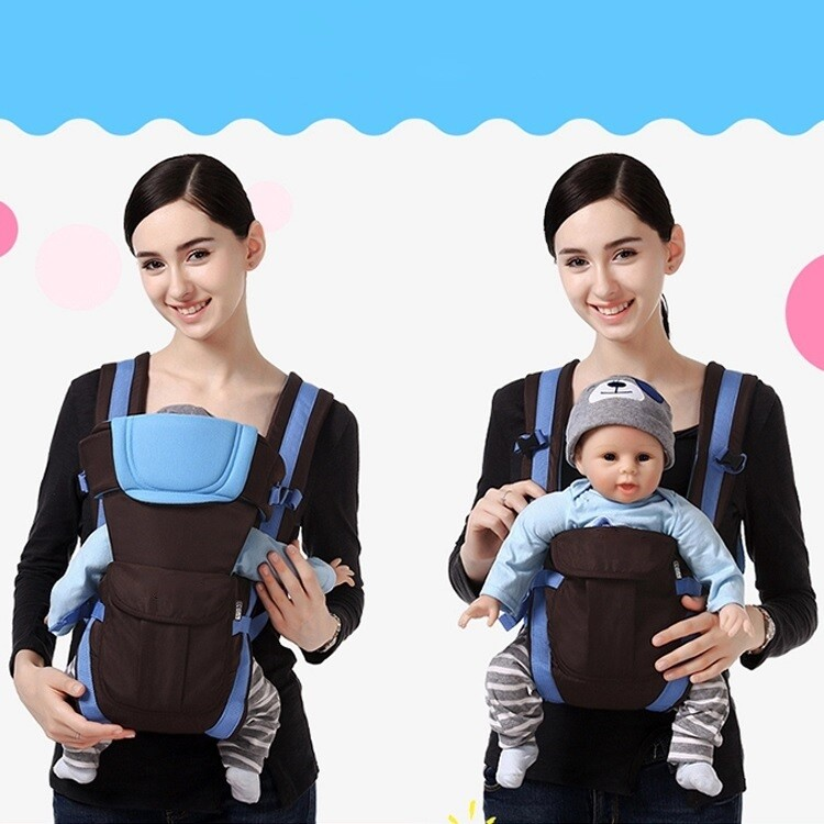 Travel universal ergonomic infant toddler hipseat sling wrap child babies carrier all seasons