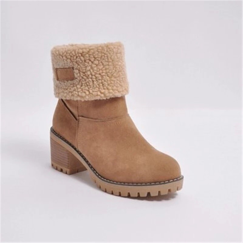 High Quality/ Suede Thickening Shoes Women Fashion Fall/Winter Durable Snow Boots