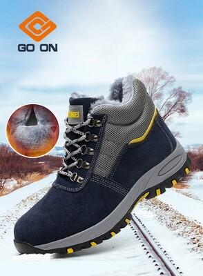 Winter Safety Shoes/Anti-hit, Anti-puncture, Waterproof/metal toe/Security shoes/Chaussures de sécurité d'hiver / anti-coup, anti-crevaison, imperméable / orteil en métal / chaussures de sécurité /