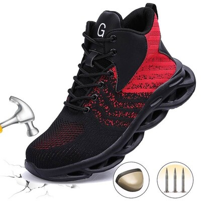 Safety Shoes/unisex/Composite Steel Toe/ Sneaker /Work Shoes Lightweight/ Breathable