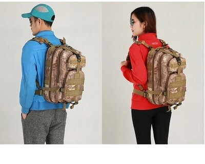 Army backpack / 25 L/ 43×24×22 cm/