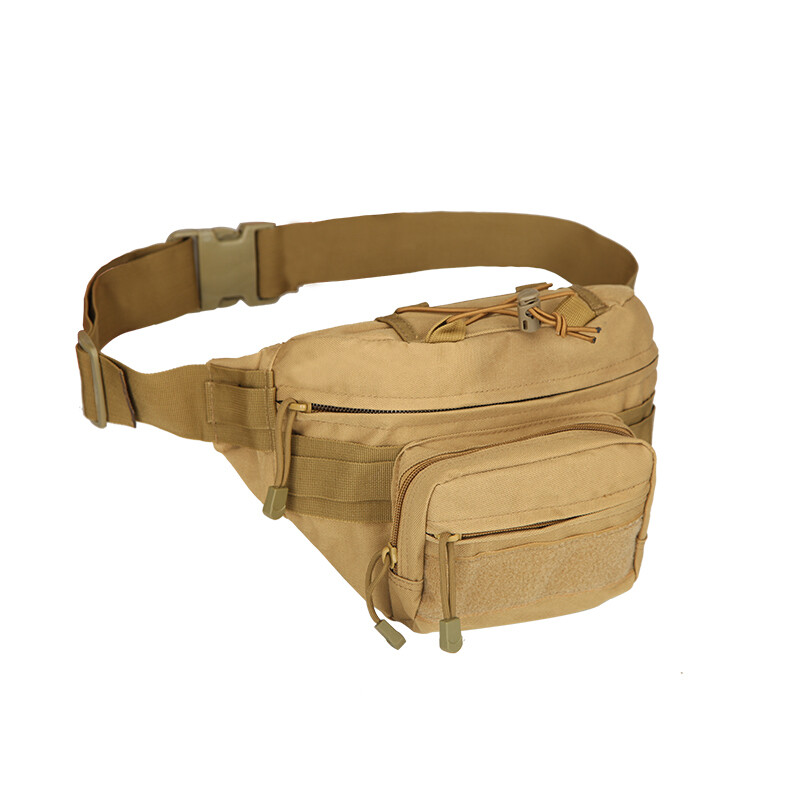 Camouflage Men Waist Bag Fanny Pack Tactical Oxford Fabric