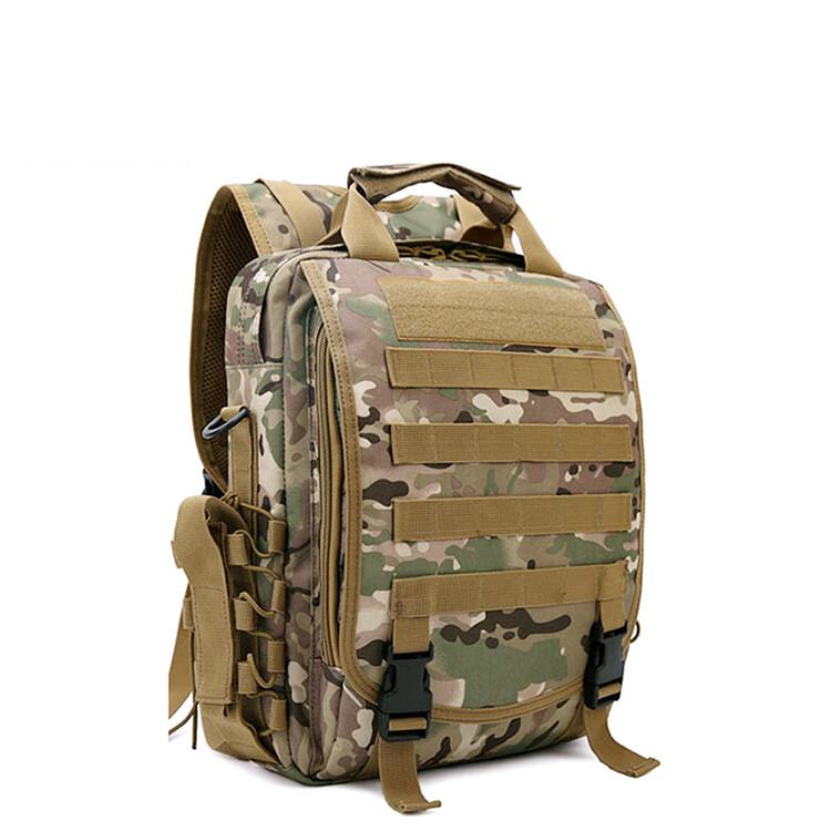 Waterproof Camouflage tactical backpack Laptop Bag Military Shoulder Sling Bag Army Camping