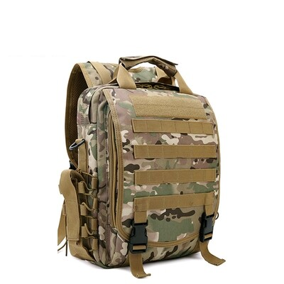 Waterproof Camouflage tactical backpack Laptop Bag Military Shoulder Sling Bag Army Camping
