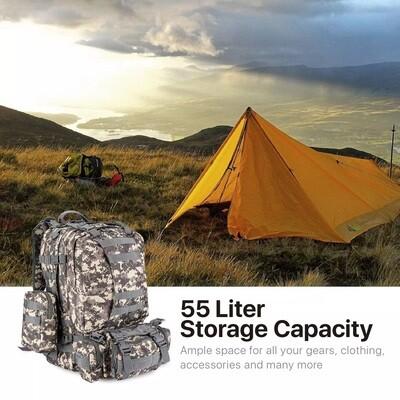 BackPack/ Hiking Bag / Camping / Army Backpack / Tactical / Military Backpack