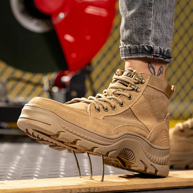 Safery Shoes / Camouflage/ Army / Steel Toe/ Cap d'acier/