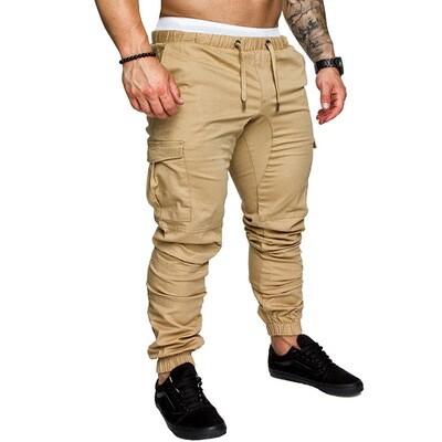 Style Men's Cotton Pants Summer Casual Men Sweatpants
