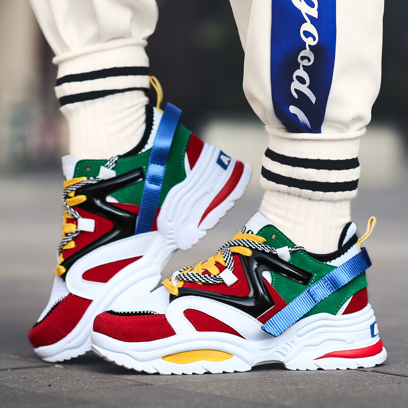(2021 Hot Sale) Sneakers / Breathable / Mesh Latest / Casual Shoes / Comfortable Fashion Tenis Women/Men / Running shoes