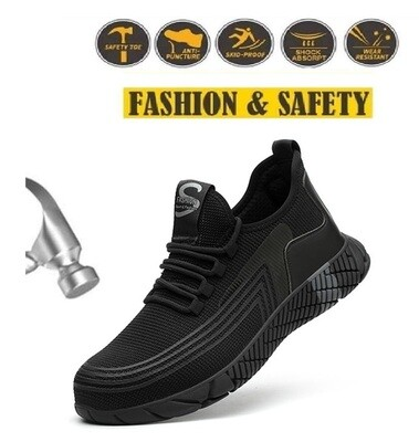 Safety shoes/Iron steel toecap/d'acier/safety shoes work shoes