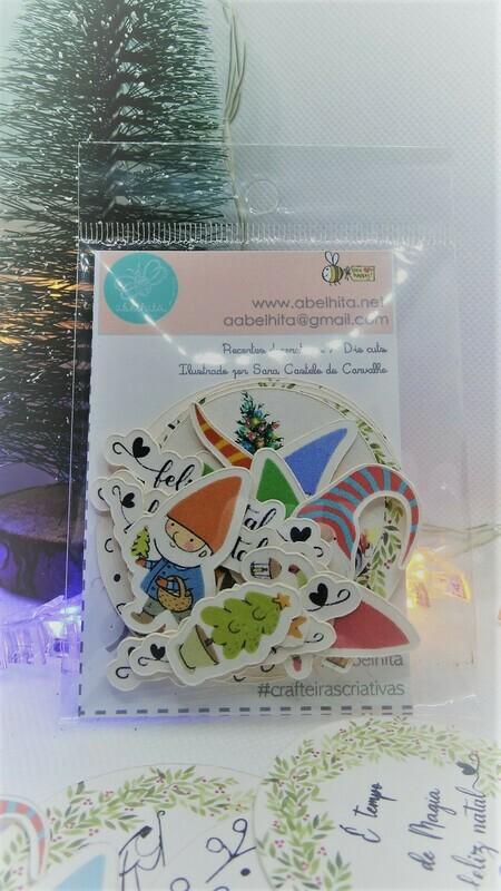 Decorações em Cartão em Português