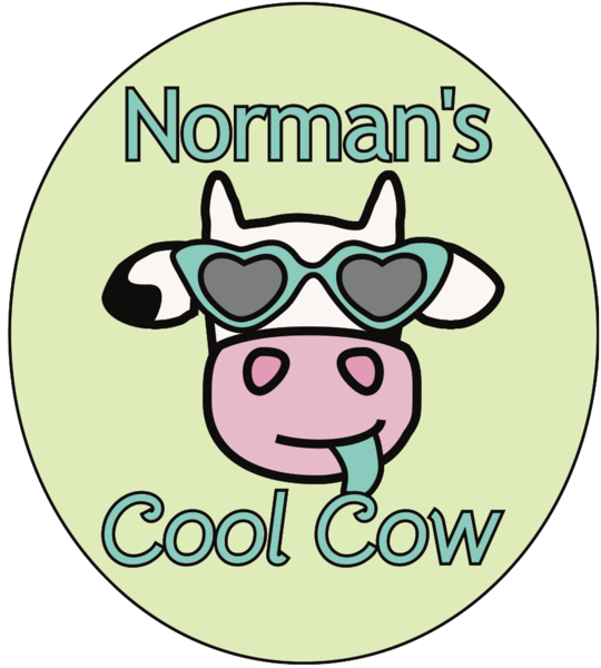 Norman's CoolCow chocolate bars