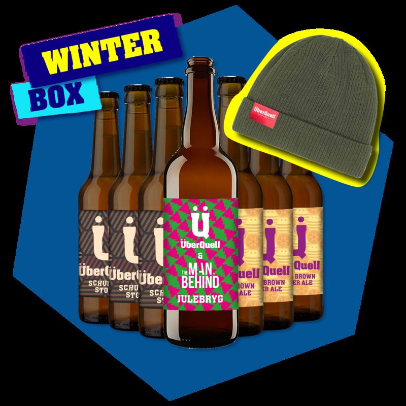 Winter Box mit ÜberQuell Bio-Baumwoll-Beanie