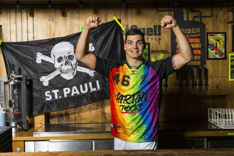 """St. Pauli Handball 1. Herren Trikot """"Rainbow"""" Kids"""