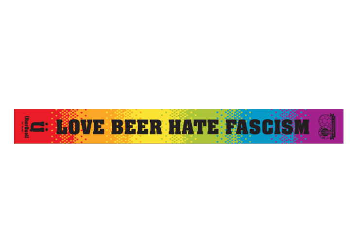 Love Beer Hate Fascism / ÜberQuell Loves St. Pauli Fanschal