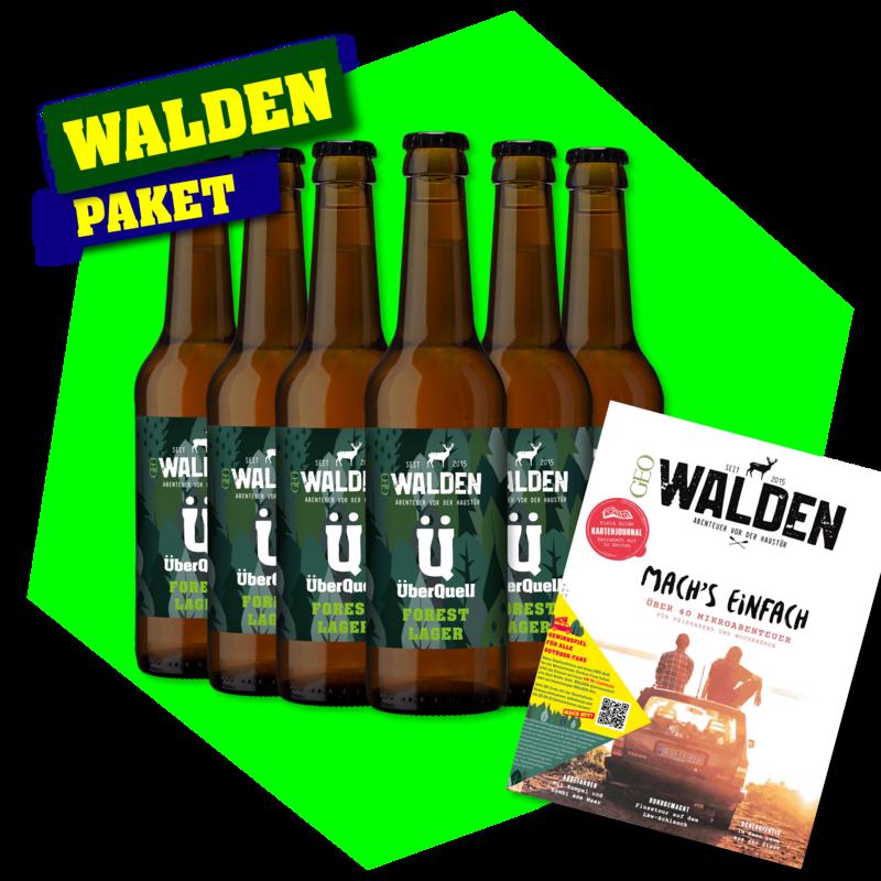 WALDEN Forest Lager   (6 Flaschen, Magazin & Live Stream)
