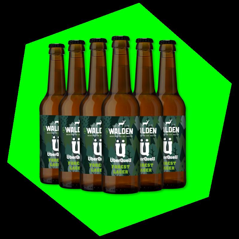 WALDEN Forest Lager   (6 Flaschen)