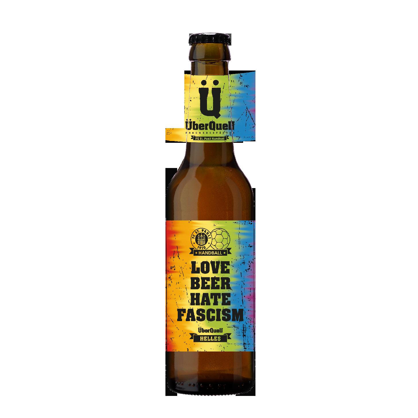 Love Beer Hate Fascism Helles