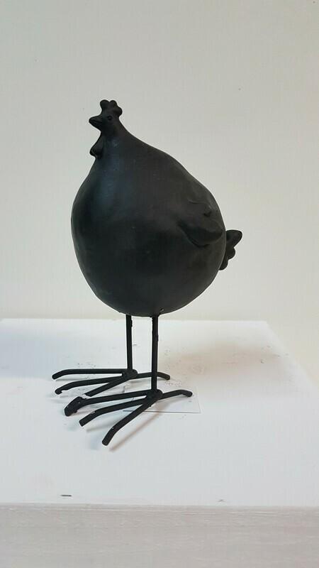 Hühner klein schwarz