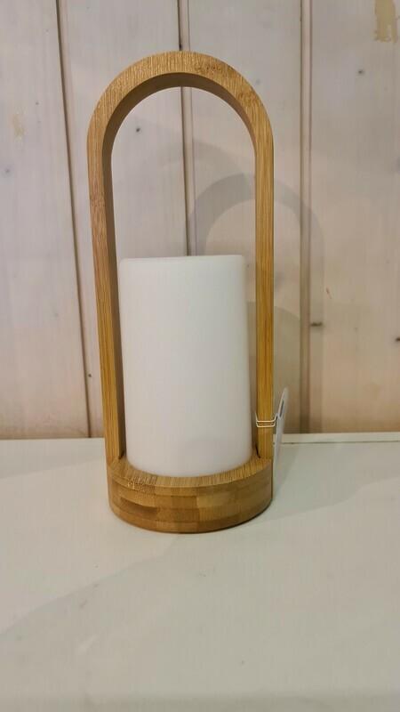 Kerzenhalter Bambus gross