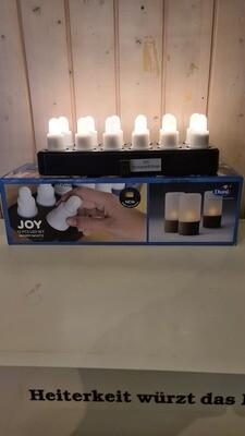 LED-Set Warm White 12-er