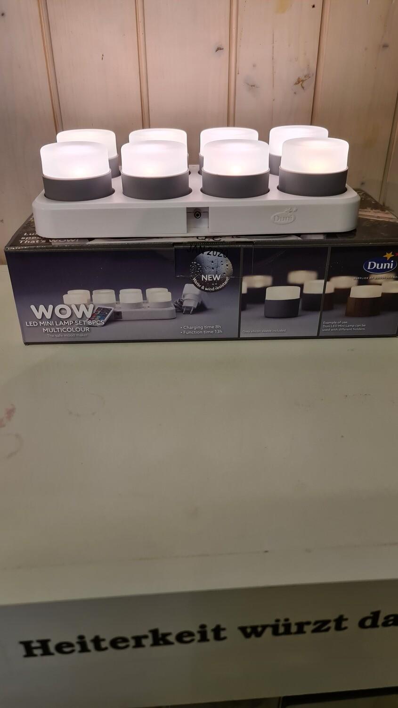 LED-Mini Lampen-Set, Multicolor 8-er