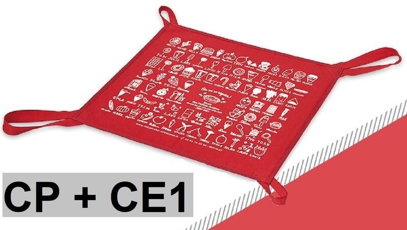 SAC à TARTE Rouge (CP+CE1)