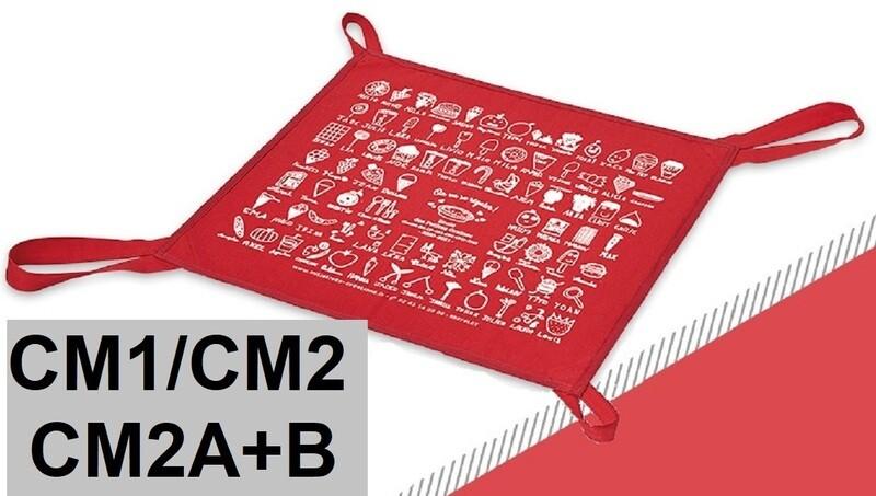 SAC à TARTE Rouge (CM1+CM2)
