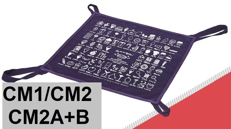SAC à TARTE Bleu (CM1+CM2)