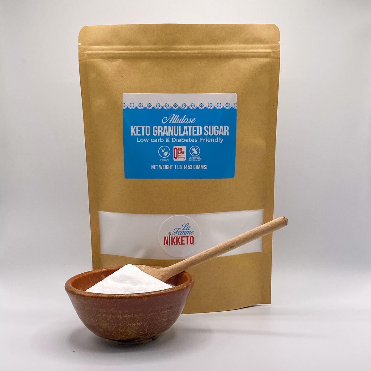 Allulose, Keto Granulated Sugar