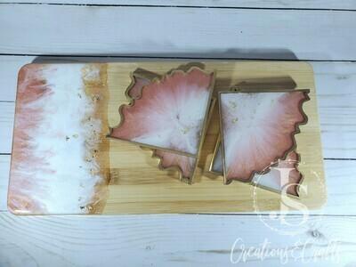 Custom Geode Coasters (Set of 4)