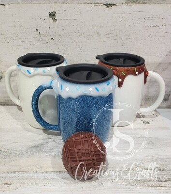 Hot Chocolate gift set (Tumbler and 2 bombs)