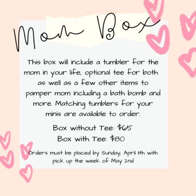 Mom Box with Tee