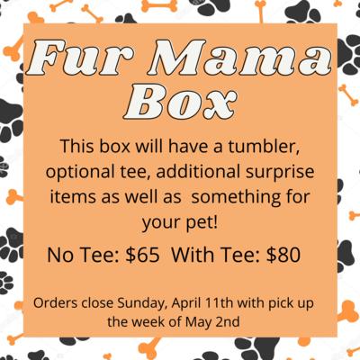 Fur Mama Box with Tee