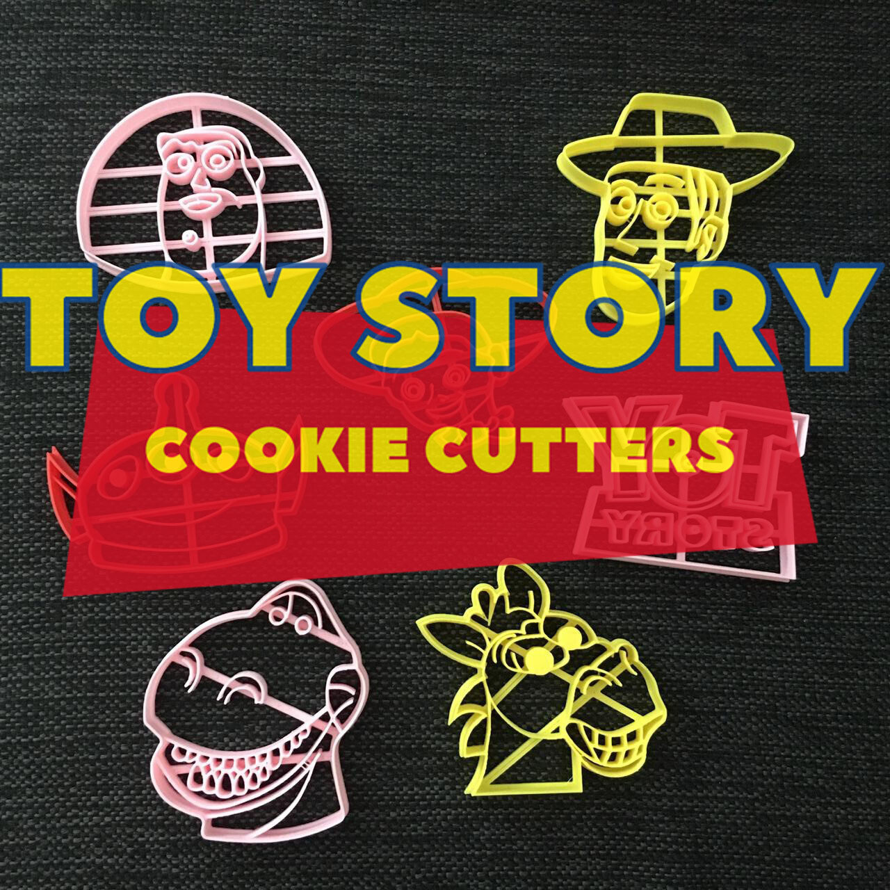 Toy Story Cookie Cutters