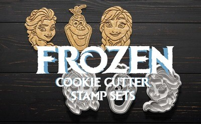 Frozen Cookie Cutters & Stamps