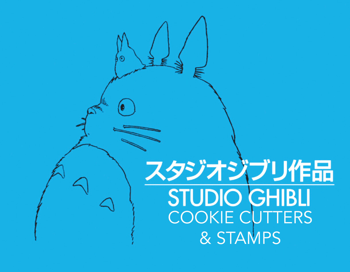 Studio Ghibli Cookie Cutters & Stamps
