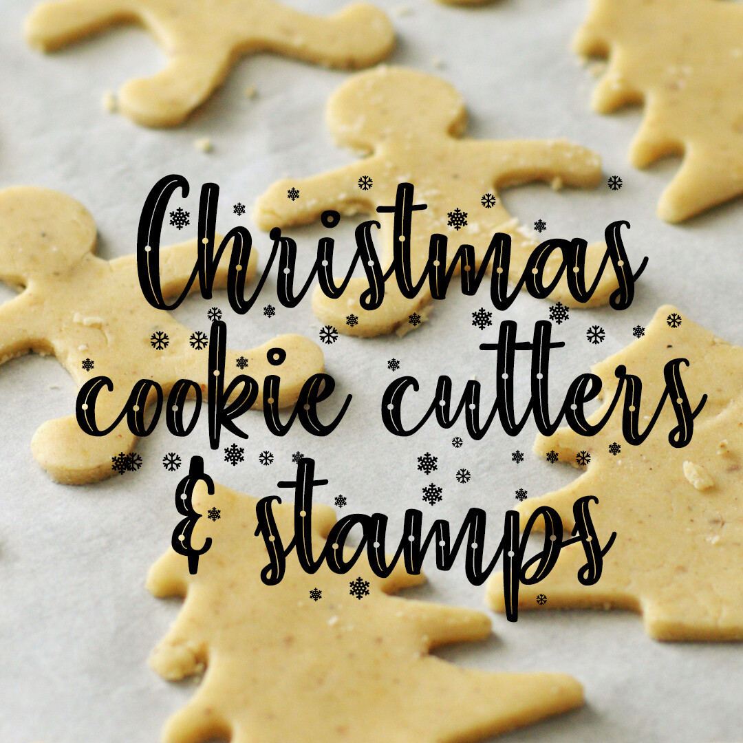 Christmas Cookie Cutters & Stamps