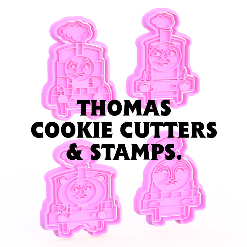 Thomas & Friends Cookie Cutters & Stamps