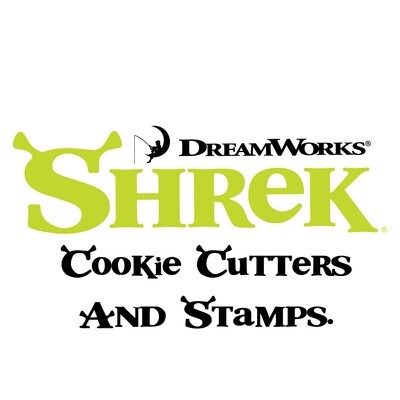 Shrek Cookie Cutters & Stamps