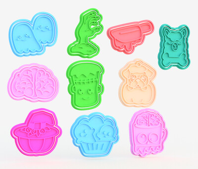 Halloween Cookie Cutter Sets